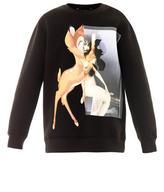Bambi-print sweatshirt