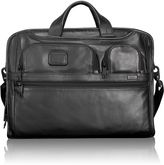 Tumi Compact Large Screen Laptop Leather Brief