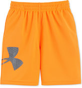 Under Armour Little Boys' Graphic-Print Striker Shorts