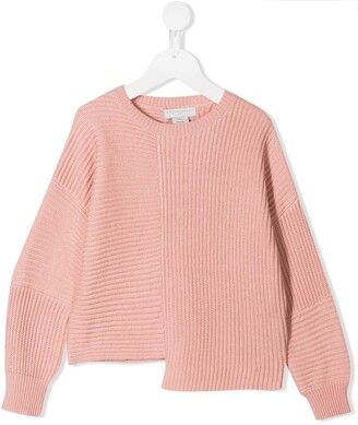 Stella McCartney Asymmetric Knit Sweater