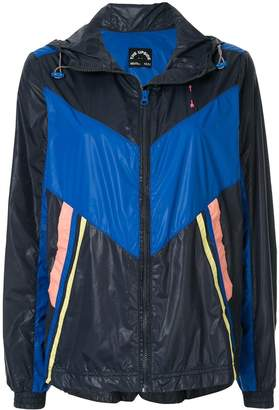 The Upside colour block hooded jacket