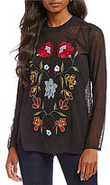 Chelsea & Theodore Embroidered Blouse