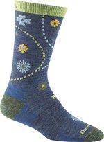 Darn Tough Vermont Women's Spring Garden Crew Light Cushion Hiking Socks, Gray