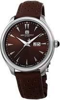 Bruno Magli Men's Luca Swiss Quartz Watch with Italian Leather Strap