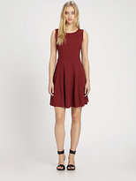 Theory Fit-And-Flare Dress
