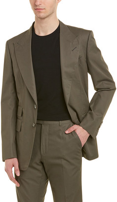 Tom Ford 2Pc Wool Suit With Flat Pant