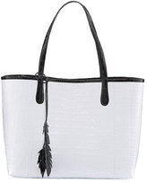 Nancy Gonzalez Erica Crocodile Shopper Tote Bag
