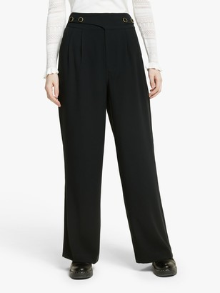 Somerset by Alice Temperley Wide Leg Trousers, Black