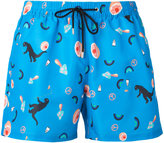 Paul Smith printed swim shorts - men - Polyester/Recycled Polyester - S