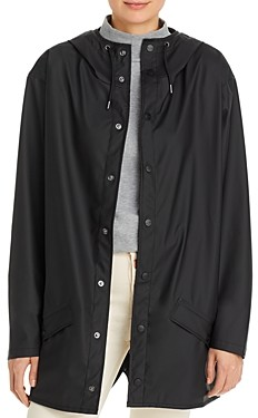 Rains Short Hooded Raincoat