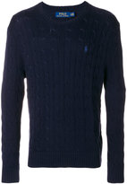 Polo Ralph Lauren cable knit sweater - men - Cotton - S