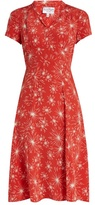 HVN Morgan firework-print short-sleeved dress