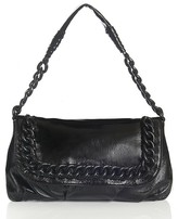 ID Chain Shoulder Flap Bag