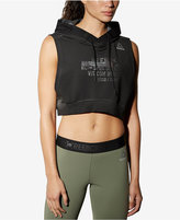 Reebok Combat Glory Cropped Pullover Hoodie