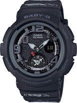 G-Shock Baby-g Women's Analog-Digital Hello Kitty Black Resin Strap Watch 44.3mm - a Limited Edition