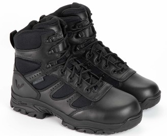 Thorogood Men's 804-6190 Deuce Series 6'' W USaterproof Tactical Side-Zip Composite Safety Toe Shoe