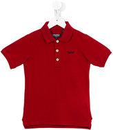 Woolrich Kids - classic polo shirt - kids - Cotton/Spandex/Elastane - 4 yrs