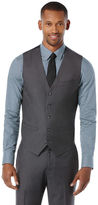 Perry Ellis Big and Tall Solid Suit Vest