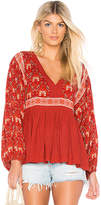 Spell & The Gypsy Collective Jewel Smock Blouse