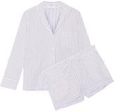 Equipment Lillian embroidered cotton pajama set