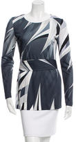 Emilio Pucci Printed Belted Top
