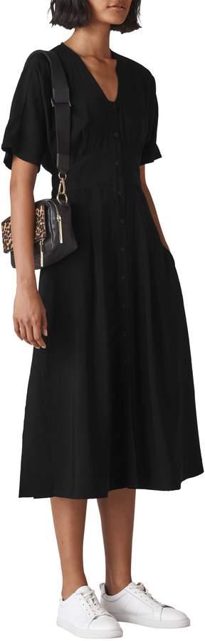 Whistles Naya Button Dress