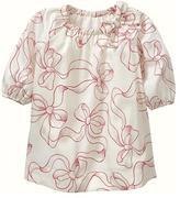 Gap Bow print dress