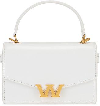 Alexander Wang W Legacy Mini Satchel Belt Bag in White | FWRD