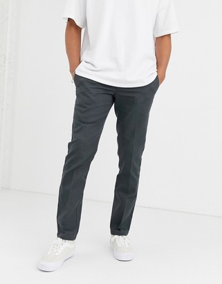 Dickies 872 slim fit work pant in grey