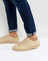 Original Penguin Stedman Trainers In Beige