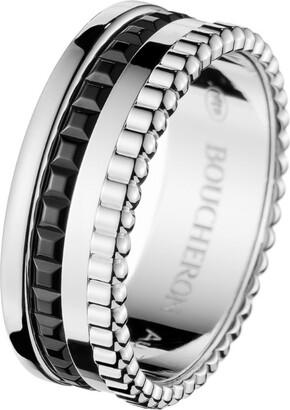 Boucheron White Gold Quatre Ring