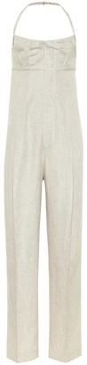 Jacquemus La Combinaison Loya linen-blend jumpsuit