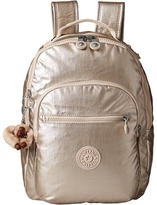 Kipling Seoul Small Metallic Backpack Bags