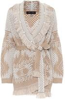 Alanui Exclusive to Mytheresa Wool-blend cardigan