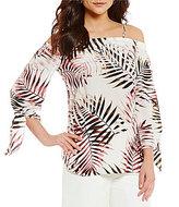 Antonio Melani Jody Printed Silk Blouse