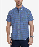 Nautica Plaid Short-Sleeve Woven Shirt