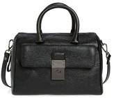 Ted Baker Manning Leather Duffel Bag - Black