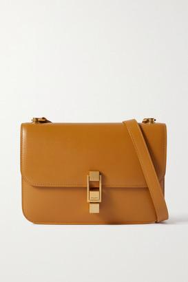 Saint Laurent Carre Leather Shoulder Bag - Mustard