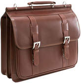 McKlein McKleinUSA Signorini 15.4 Leather Double Compartment Laptop Briefcase