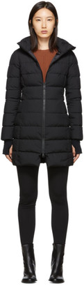 Herno Black Down Gore Windstopper Long Jacket