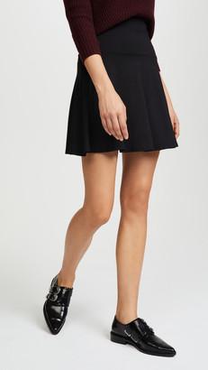 Susana Monaco High Waisted Flare Skirt