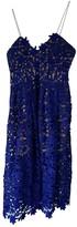 Self-Portrait Self Portrait Blue Lace Dress for Women