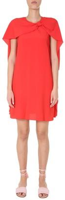 RED Valentino Cape Mini Dress