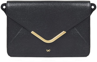 Anya Hindmarch Postbox Textured-leather Wallet