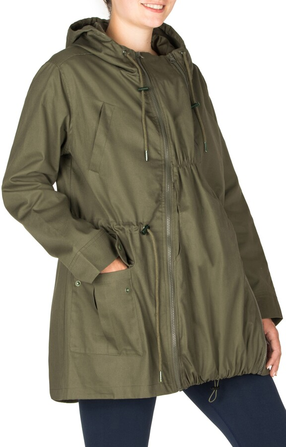 Thumbnail for your product : Modern Eternity Convertible Military 3-in-1 Maternity/Nursing Jacket