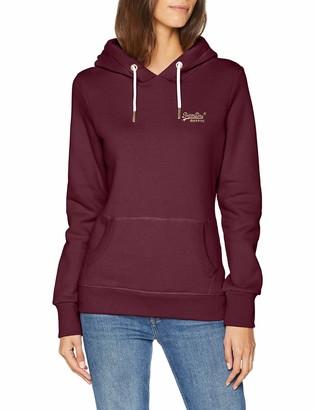 Superdry Women's Orange Label Elite Hooded Pullover Sweatshirt