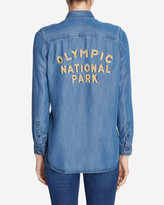 Eddie Bauer Women's Tranquil Shirt - Olympic National Park