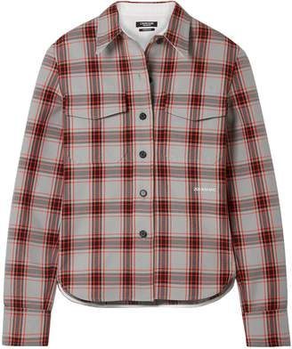 Calvin Klein Checked Twill Shirt