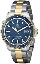 Tag Heuer Men's WAK2120.BB0835 Analog Display Swiss Automatic Two Tone Watch