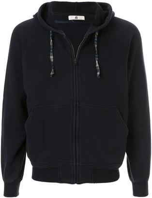 Issey Miyake Pre-Owned 1980's Sports Line logo zipped hoodie